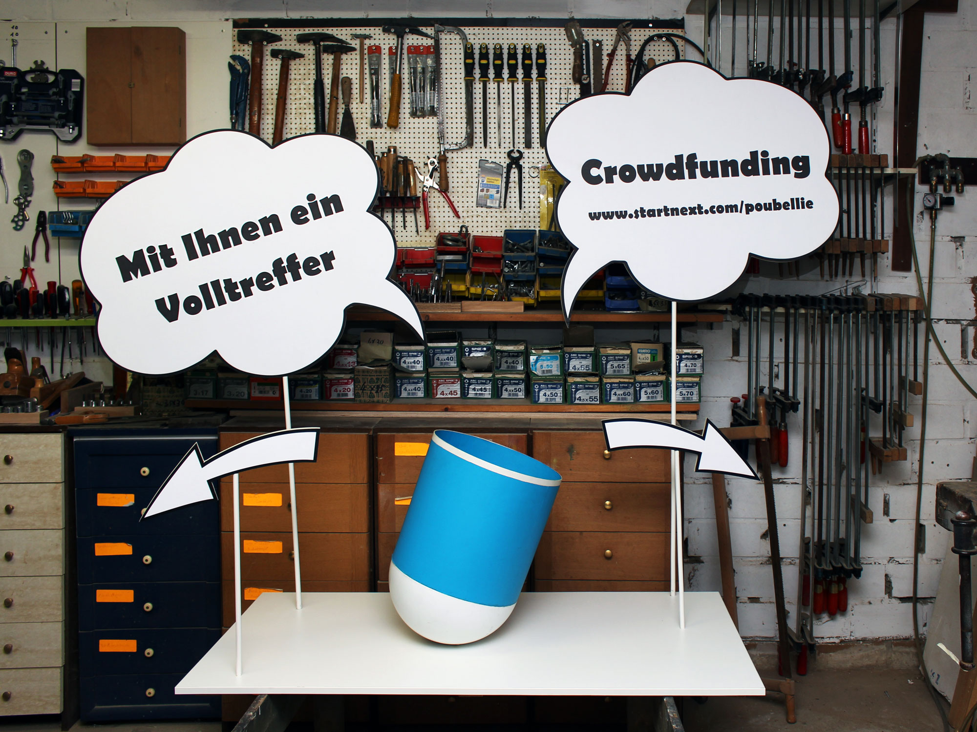 Crowdfunding Poubellie