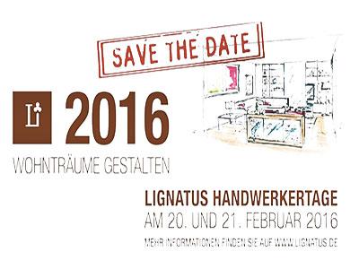 Lignatus Handwerkertage 2016 Otono-Design